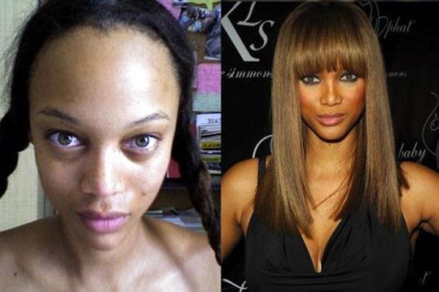Kadınların makyajla değişimi