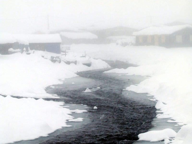 Kavrun'da kar kalınlığı 70 cm