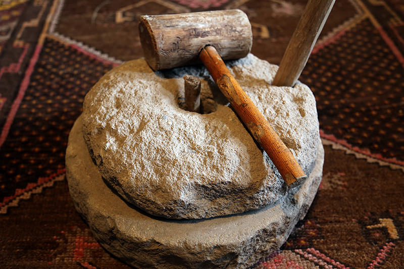 Kerpiç evde tarihi yöresel eşyaları sergiliyor