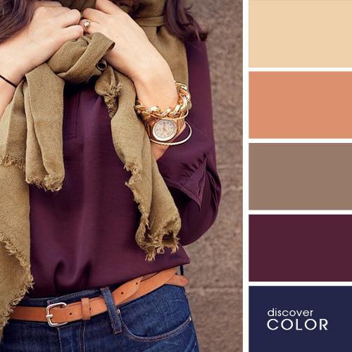 Kıyafet seçiminde renklerin uyumu