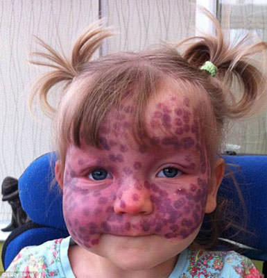 Küçük kızın büyük cesareti
