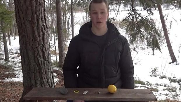 Limonla ateş nasıl yakılır?