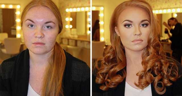 Makyajla inanılmaz değişim