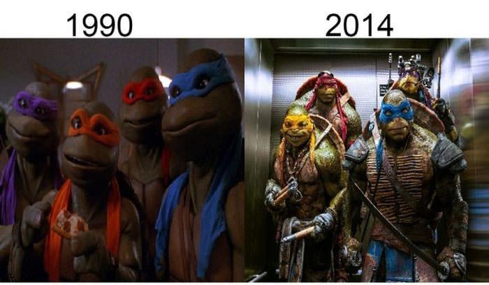 Nasılda değiştiler!