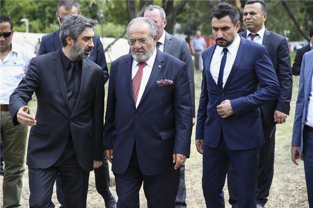 Necati Şaşmaz'dan meclise taziye ziyareti