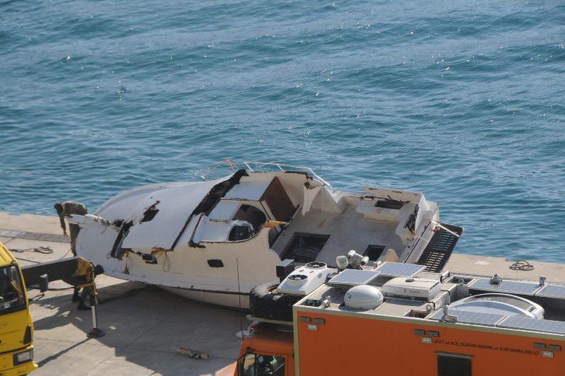Ölüm teknesi çıkarıldı