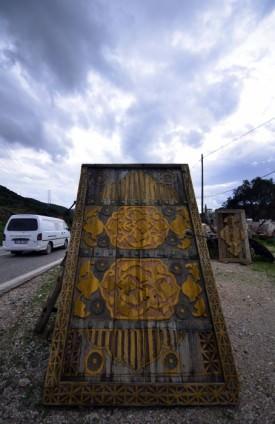 """""""Osmanlı kapıları"""" zamana meydan okuyor"""
