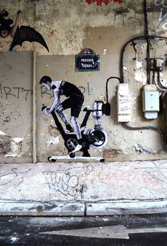 Paris sokakları ondan sorulur!