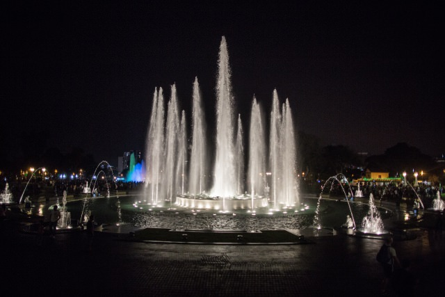 "Peru'daki ""Magic Water Circuit"" Su Parkı"