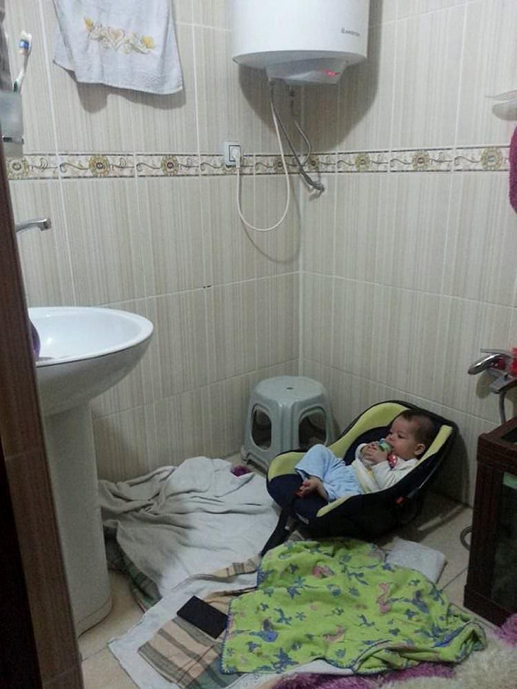 Şemdinli'de bebeğin mucize kurtuluşu