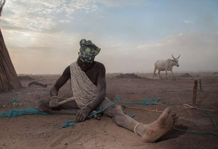 Sığır kralları Mundari kabilesi