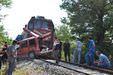 Somada feci tren kazası