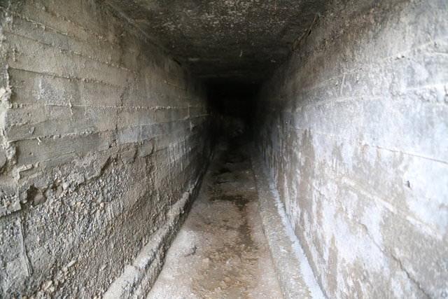 Teröristlerin kazdıkları tünel ortaya çıkarıldı