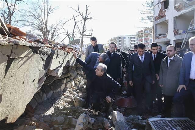 Tüfenkçi ve Eker'den Çınar'a ziyaret