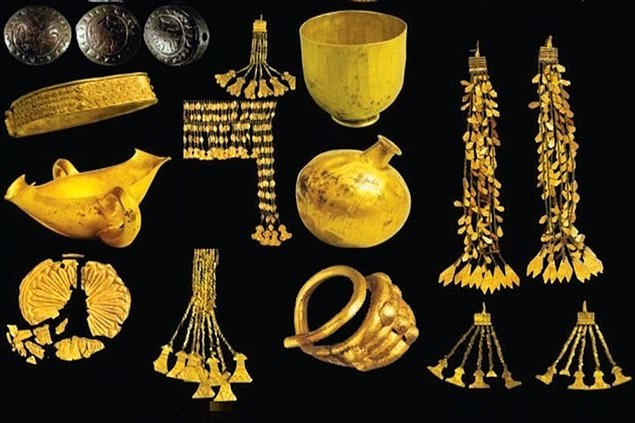 Türkiye'deki  Arkeolojik kazılarda bulunan eserler