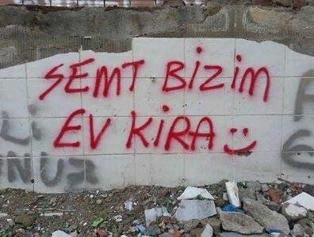 Türk'ün duvar yazılarıyla imtihanı
