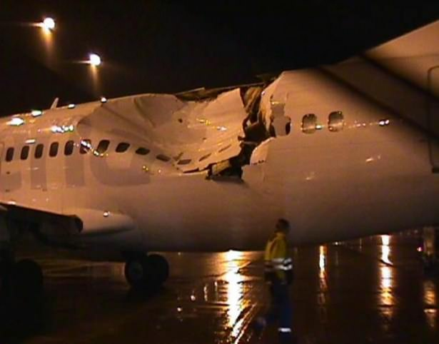 Yürekleri ağza getiren uçak kazaları