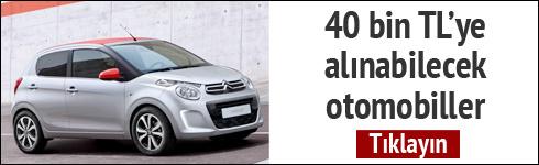 40 bin TL ye alınabilecek otomobiller
