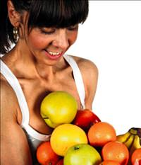 Meyve diyeti ya� yerine v�cuttaki kaslar� eritiyor!