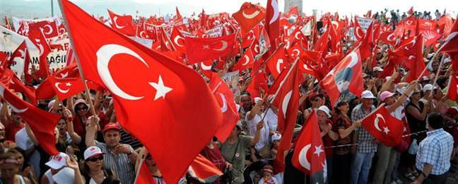 """�zmir'de """"Cumhuriyet Mitingi"""" d�zenlendi"""