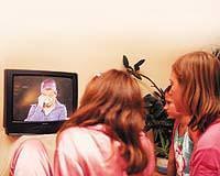 Televizyonun �ocuklara zararlar�