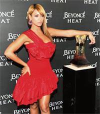 Beyonce, parf�m� i�in muhte�em bir parti verdi