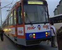 �stanbul'da tramvay kazas�