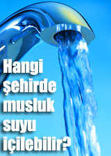 Hangi ehirde musluk suyu iilebilir?