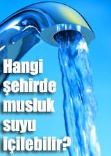 Hangi şehirde musluk suyu içilebilir?