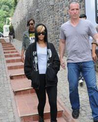 Rihanna T�rkiye'ye geldi