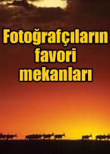 Foto�raf��lar�n favori mekanlar�