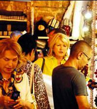 Martha Stewart Kapalıçarşı'da