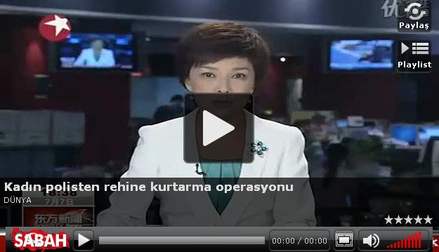 Kadın polisten şok operasyon