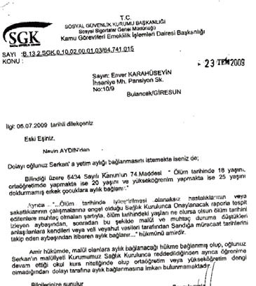 """31139839179 - SGK'dan """"farklı özürlü"""" tanımı"""