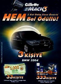 Gillette BMW Kampanyas�