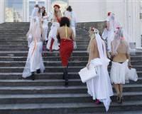 Seks turizmine ��plak protesto