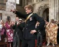 Kraliyet ailesinden dans �ov