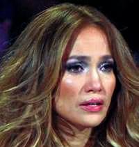 Lopez gözyaşlarına boğuldu