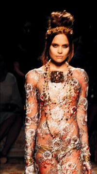 Fransız giyim markası chanel in çırağan sarayı nda