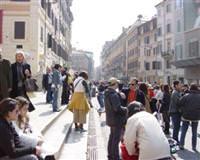 Italyan sokaklarında türk esintisi