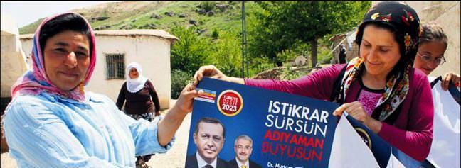 Erdoğan sevgisi tulum çıkarttı