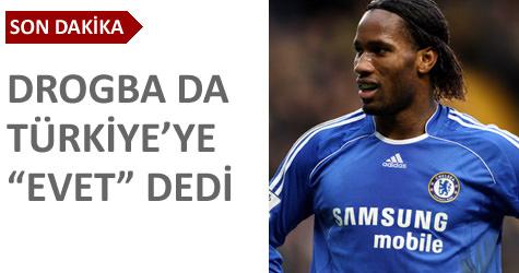 Galatasarayda Drogba heyecanı