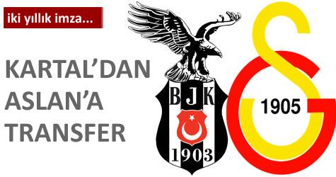 Beşiktaştan G.Saraya transfer oldu