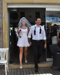 G�k�e Bahad�r ile Ali Sunal evlendi
