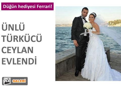 Ceylan evlendi