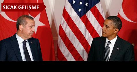 Erdoğandan Obamanın teklifine ret
