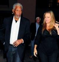 Morgan Freeman İstanbul'da prova izledi