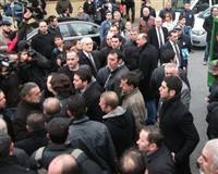 Ali Taran, Acun'u dövmeye kalktı