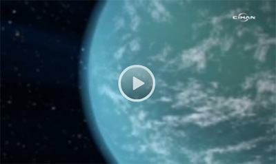 Bilimadamları yeni gezegenin yüzeyinde sıcaklığın yaklaşık