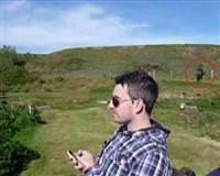 Turist kamerasına &;hayalet&; takıldı